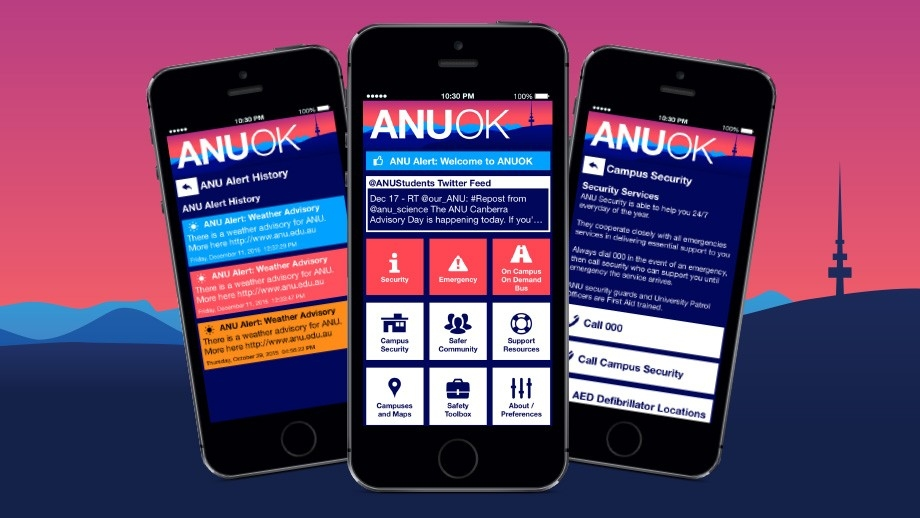 Stay safe on campus with new ANU OK app | ANU College of