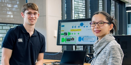 PhD Student Alexander Mathews and Dr Lexing Xie