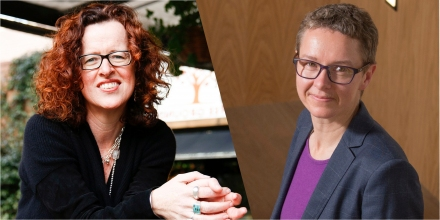 Distinguished Professor Genevieve Bell and Professor Elanor Huntington