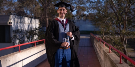 Ali Bulbul, Bachelor of Engineering (Honours) graduate