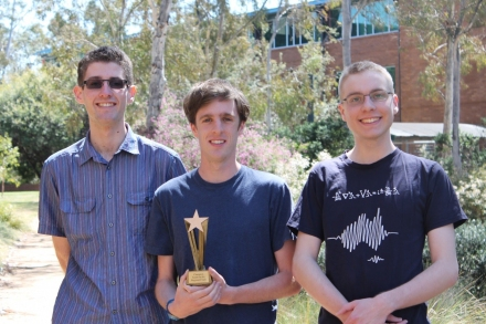 Three ANU students headed to Morocco for ICPC Challenge