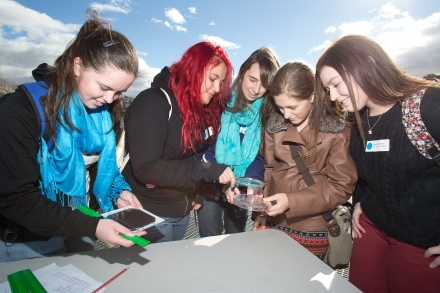 Female Students Explore Engineering and Computing at ANU