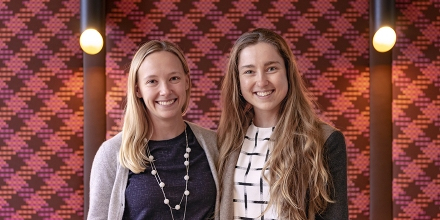 ANU Graduates Emily Campbell and Claire Honeyman