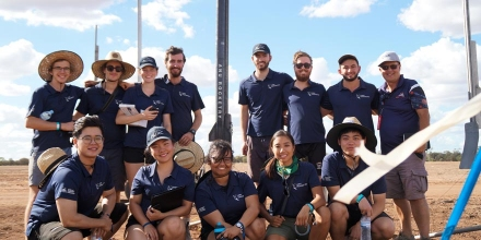 ANU Rocketry Team at AURC