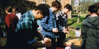 ANU Engineers BBQ August 1992