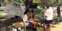 Engineering Students Association BBQ during O-Week in 1994