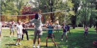 Staff and students volleyball, O-Week 1994