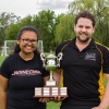 Dawn and Jay with the Natasha Liard Cup