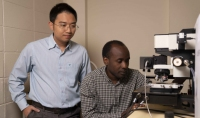 Dr Hieu Nguyen and PhD Candidate Mike Tebyetekerwa
