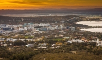 ANU Campus from Telstra Tower