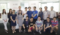 Agents meeting with current students from Beijing Institute of Technology