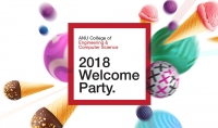 2018 Welcome Party graphic